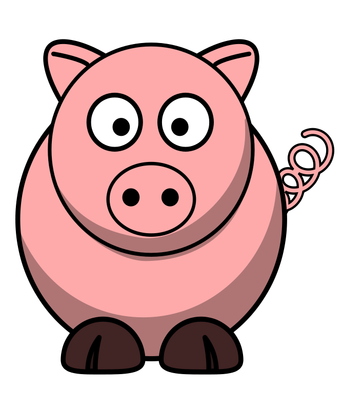 667x800 Picture Of A Cartoon Pig