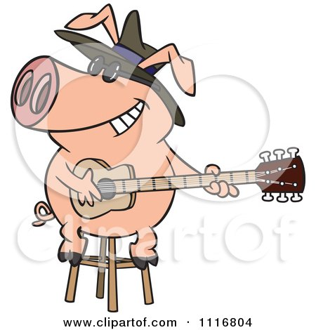 450x470 Royalty Free (Rf) Clip Art Illustration Of A Cartoon Happy Pig