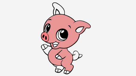 454x255 Top 20 Free Printable Pig Coloring Pages Online