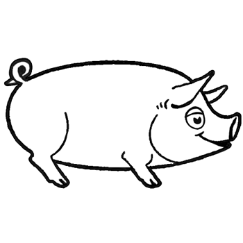 350x350 Drawing Cartoon Pigs Archives