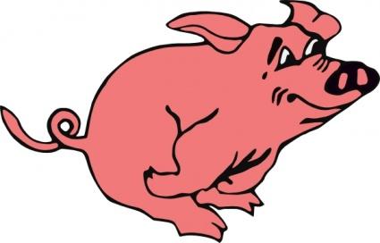 425x272 Cartoon Pig Vector