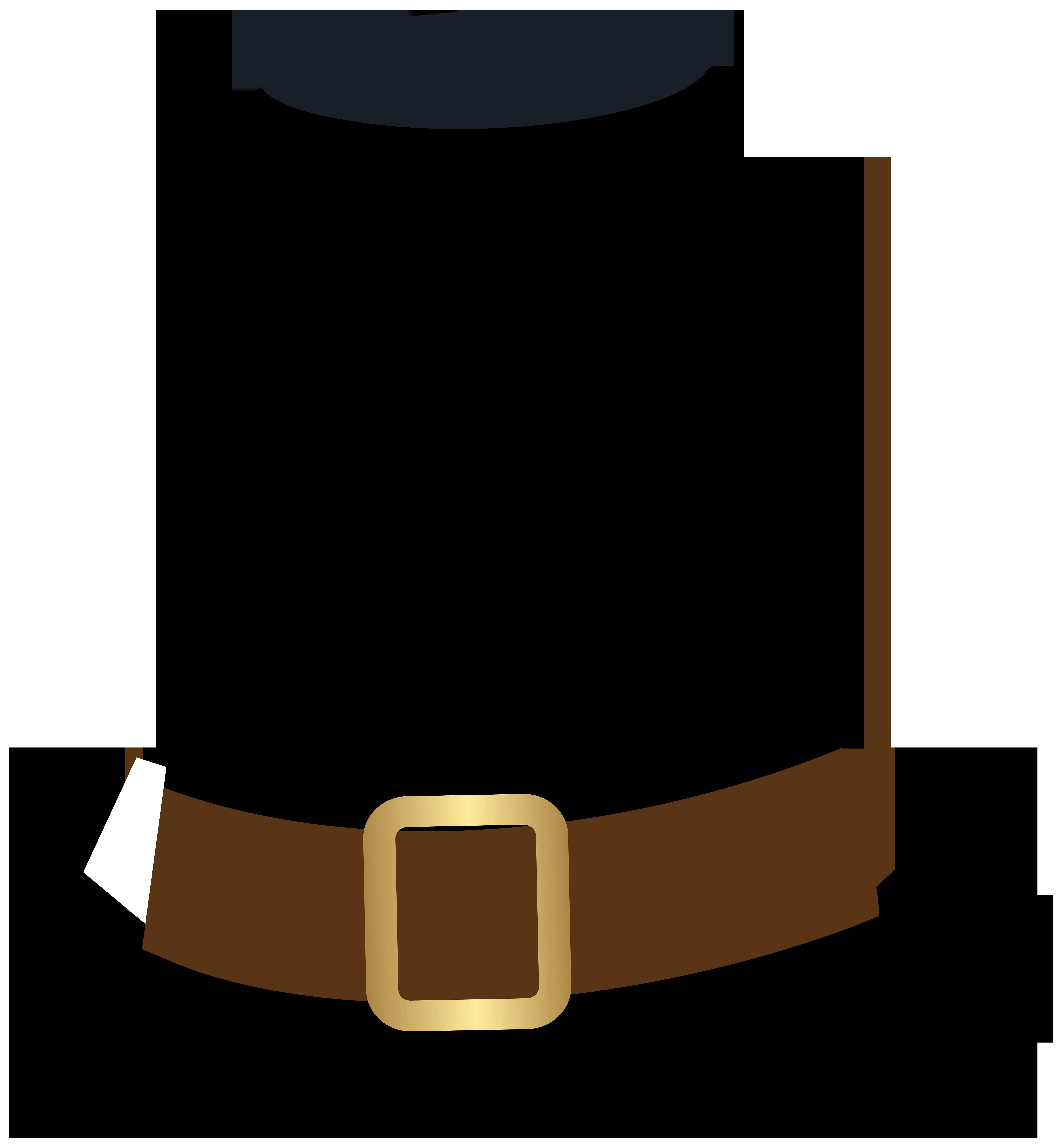 7403x8000 Pilgrim Clipart Pilgrim Hat
