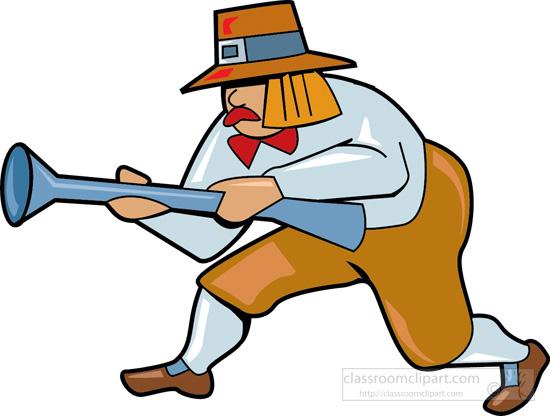 550x416 Pilgrim Clipart Hunting