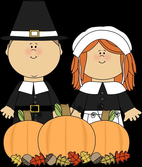 470x550 Pilgrims Thanksgiving Cliparts