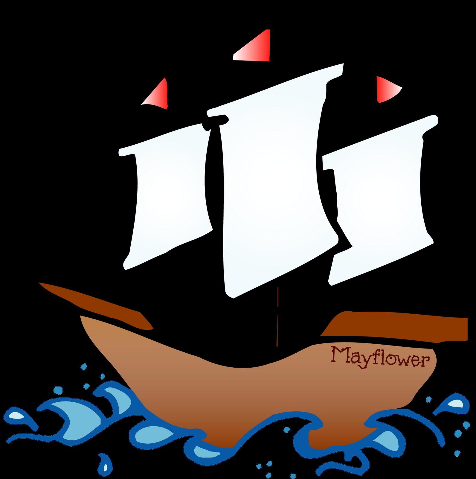 1592x1600 Boat Clipart Mayflower 2542930
