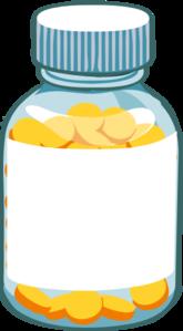 Prescription Bottle Clipart