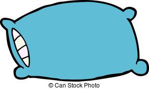 300x180 Pillow Clipart Blue Pillow
