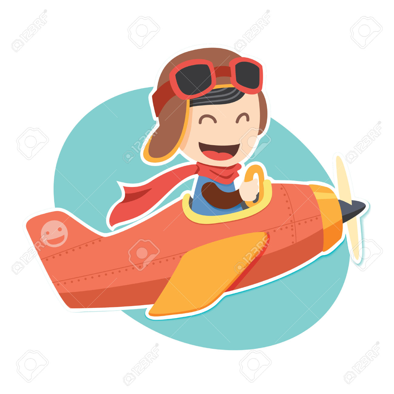 1300x1300 Aviation Clipart Baby Pilot