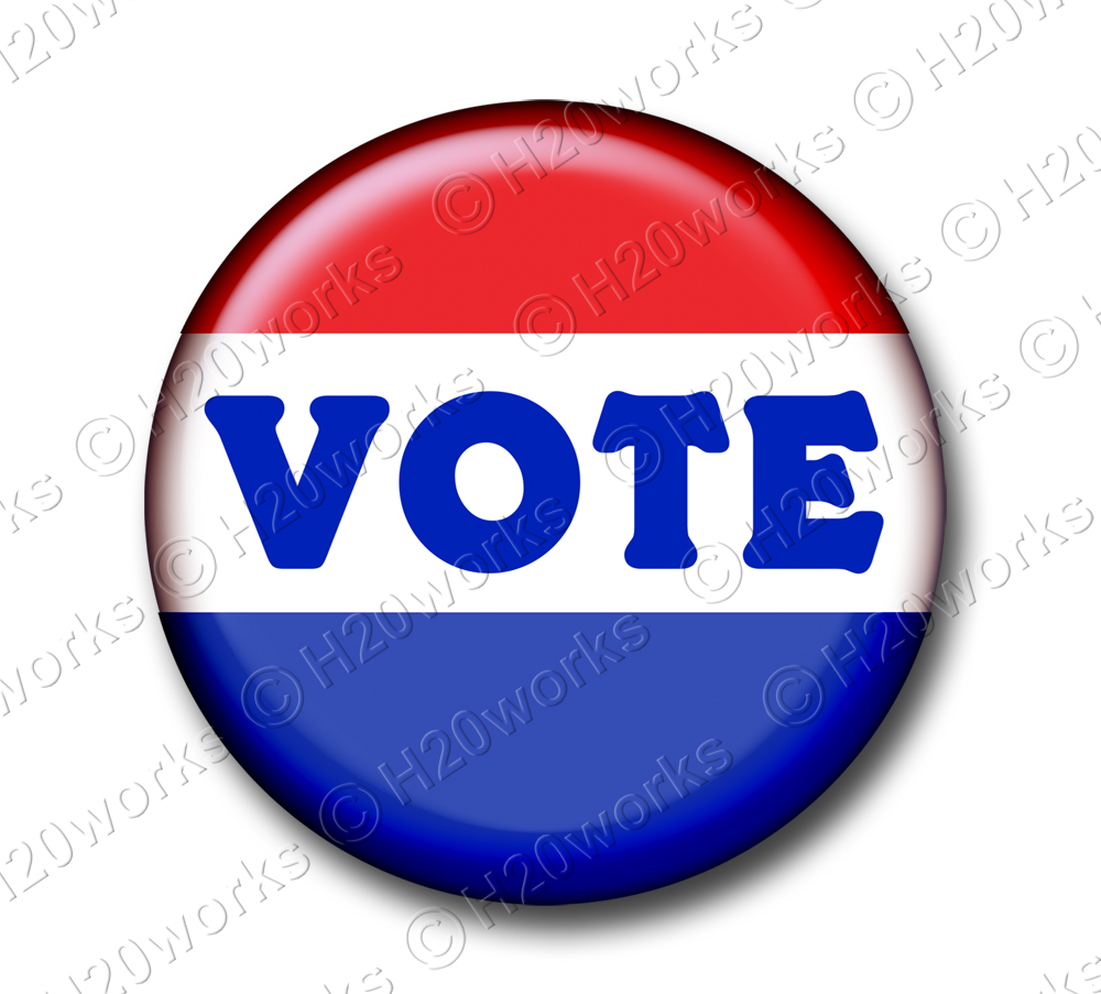 1000x903 Button Clipart Vote