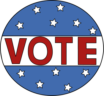350x321 Clip Art Vote Now Clipart