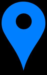 186x297 Blue Pin Clip Art