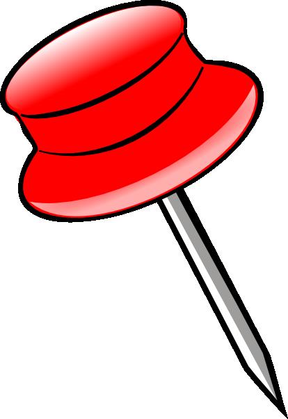 414x602 Pin Red Clip Art