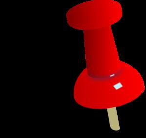 299x282 Push Pin Clip Art