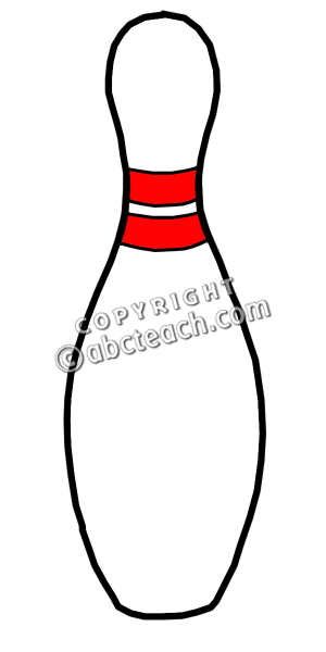 300x600 Single Clipart Bowling Pin