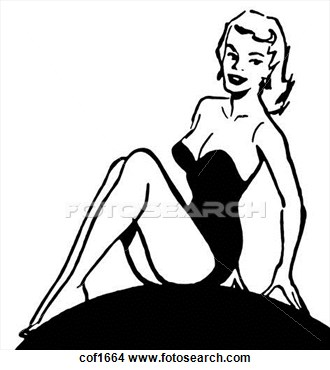 330x370 Pin Up Clipart