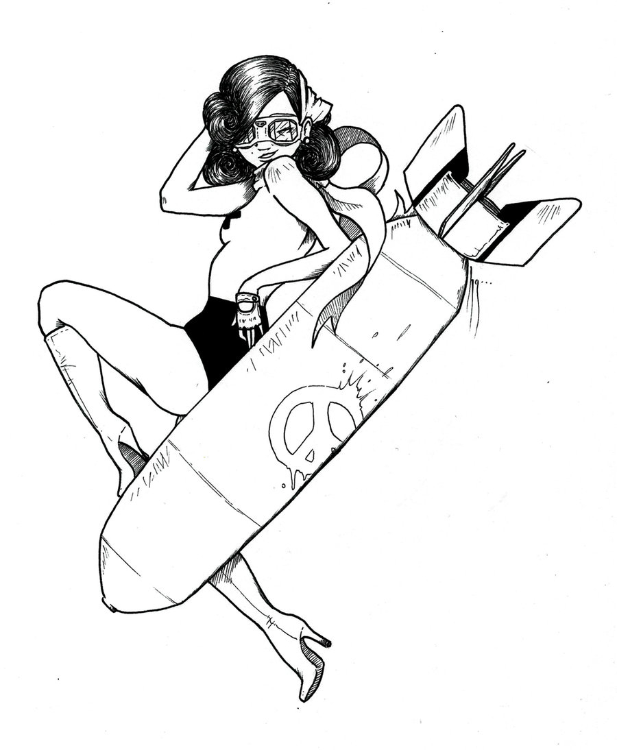 900x1094 Pin Up Girl Line Drawing Pin Up Line By Matriarch667