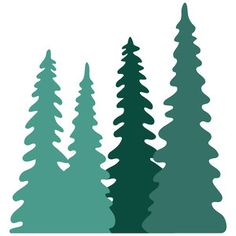 236x236 Pine Tree clip art Free Vector 4Vector fire pit stencil