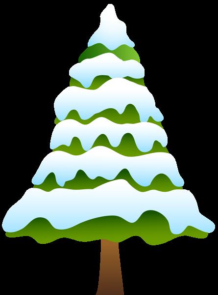 445x600 Pine Clipart Snowy