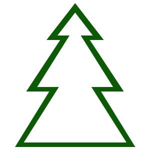300x300 Alpine Tree Clip Art Clipart