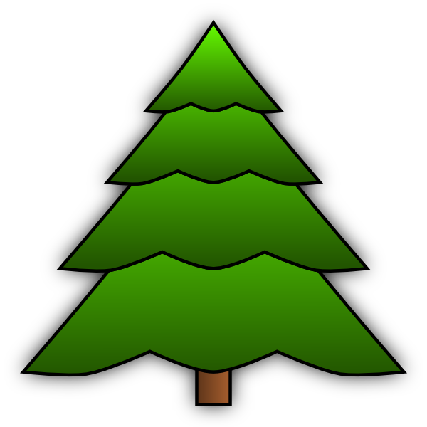 600x600 Simple Tree Clip Art