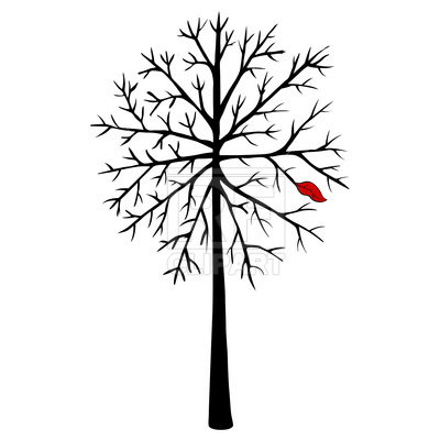 400x400 Bare Tree Royalty Free Vector Clip Art Image
