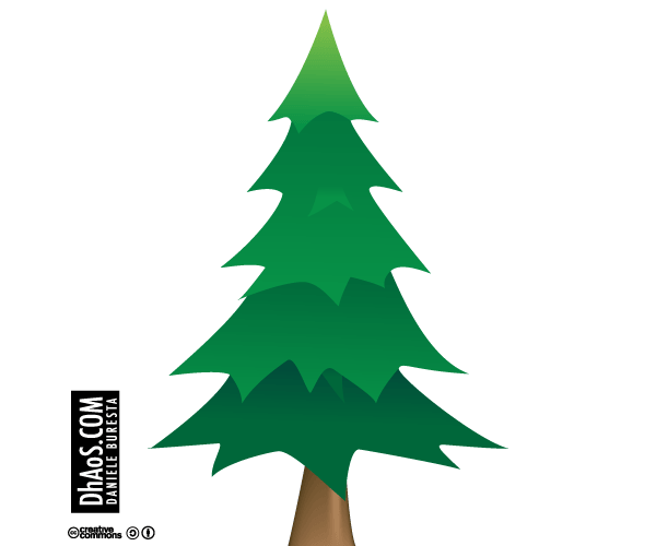 Pine Tree Outline