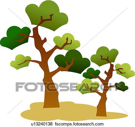 450x422 Clip Art Of Pine Trees, Plant, Tree, Trees, Plants, Pine Tree