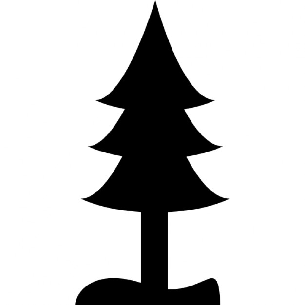 626x626 Pine Tree Silhouette Icons Free Download