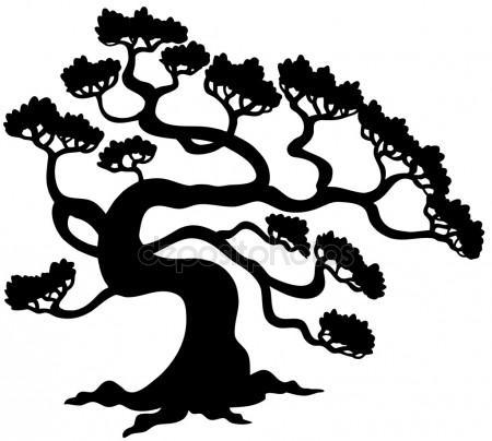 450x404 Pine Tree Silhouette Stock Vectors, Royalty Free Pine Tree