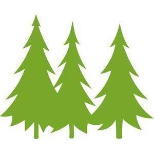 300x300 Pine Tree Silhouette