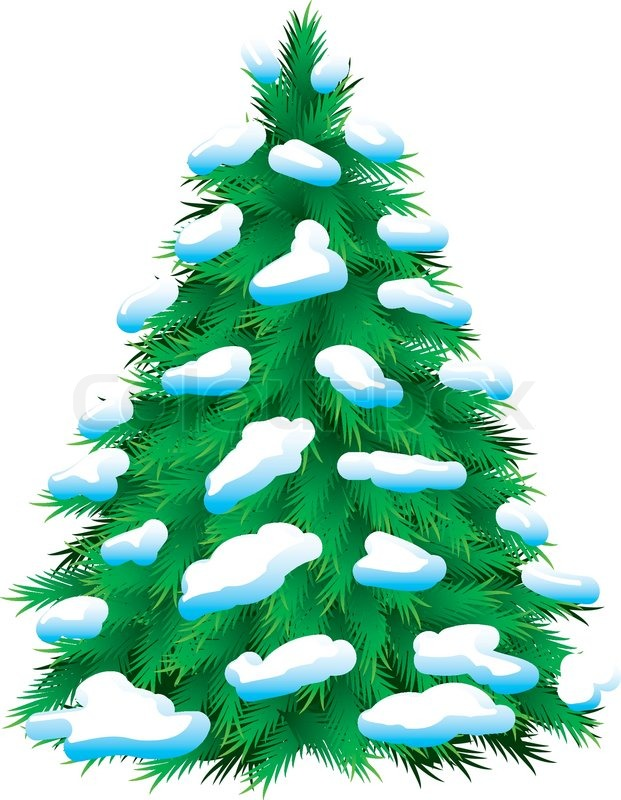 621x800 Pine Tree Clipart Snow Background
