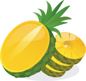 300x282 27 Free Clipart Pineapple Public Domain Vectors