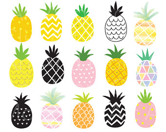 340x270 Mosaic Clipart Pineapple
