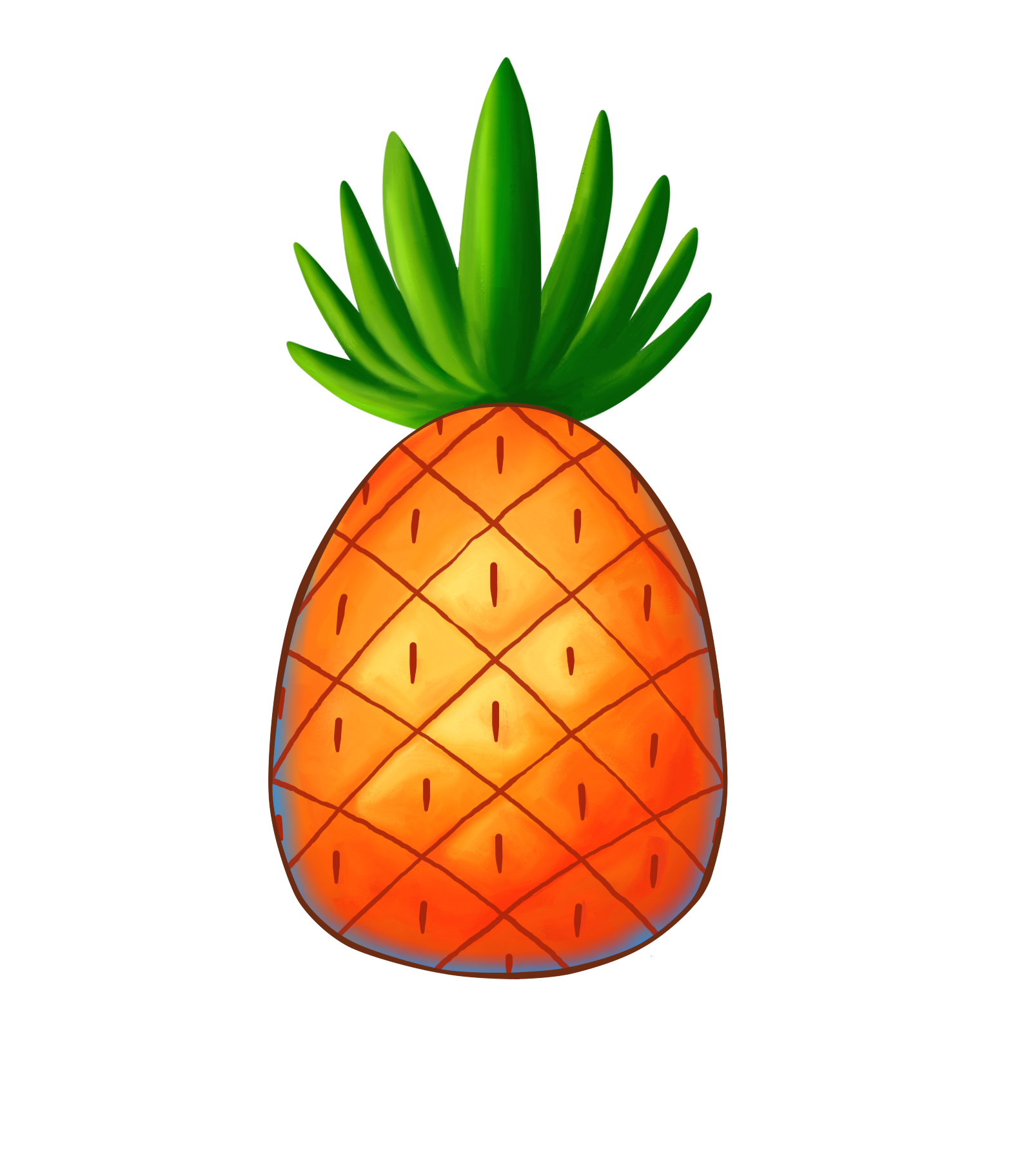 1599x1823 Pineapple Png Images Transparent Free Download