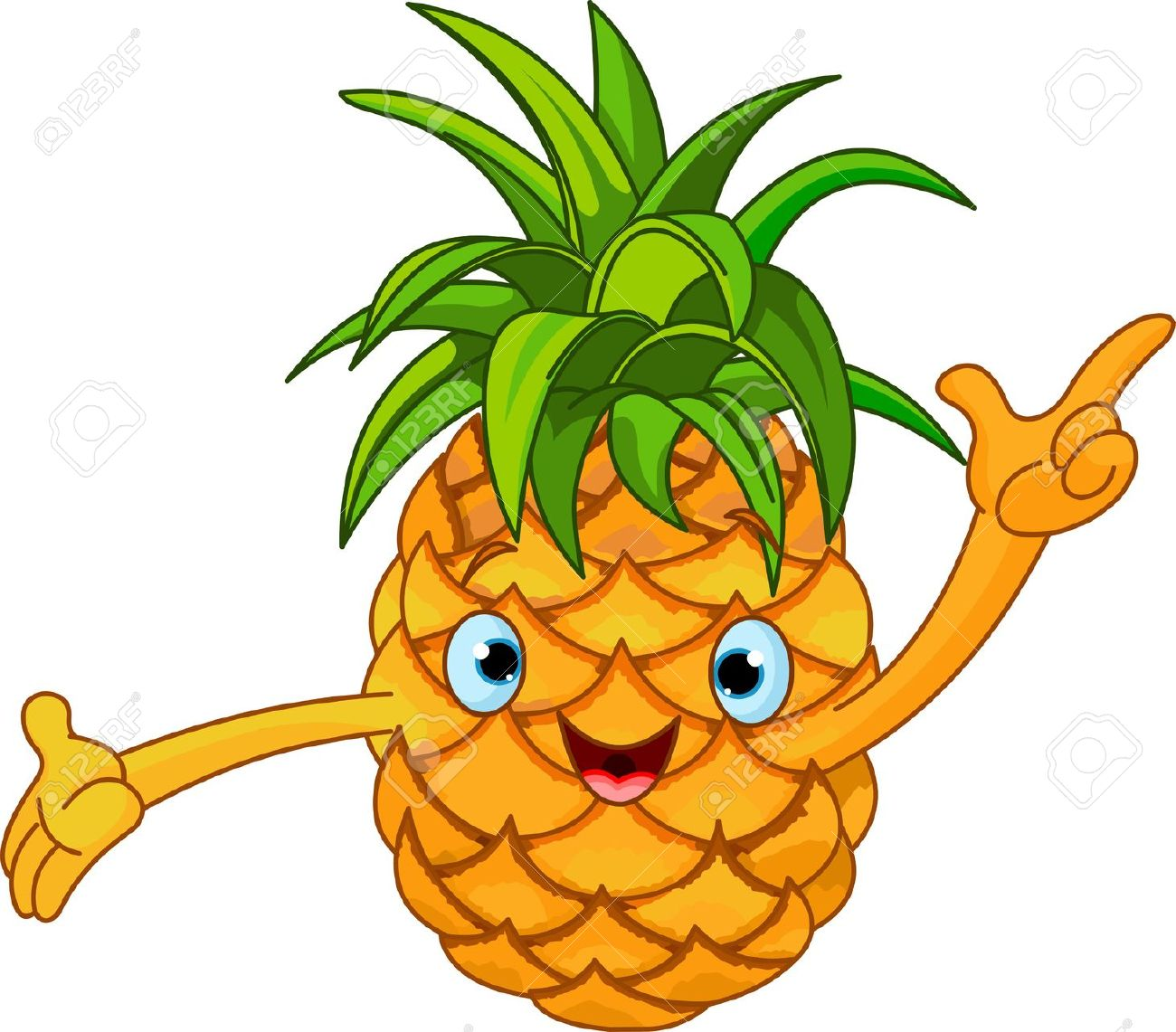 1300x1141 Pineapple Clip Art