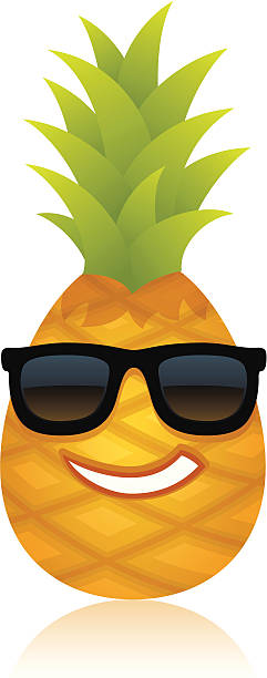 241x612 Pineapple Clipart Funny