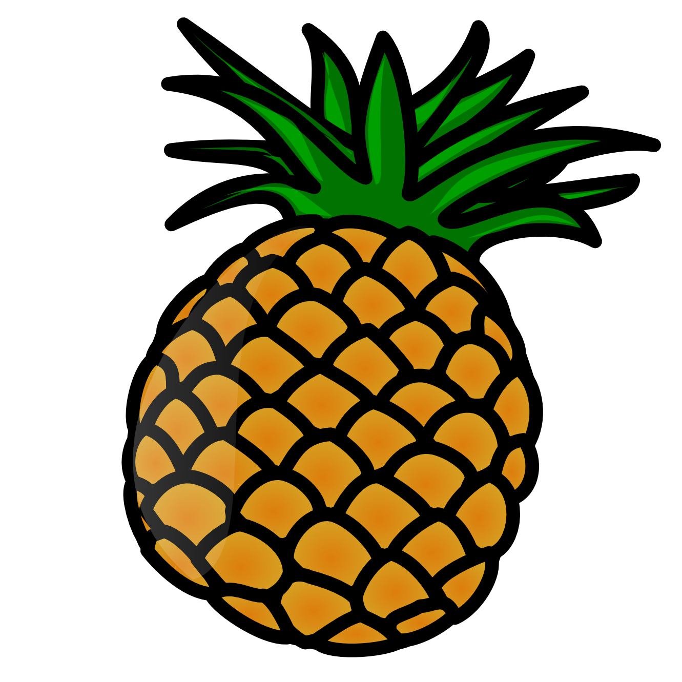 1331x1331 Top 83 Pineapple Clip Art