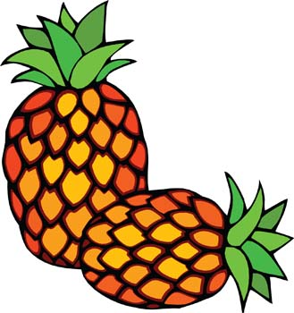 329x350 Pineapple Clip Art 3