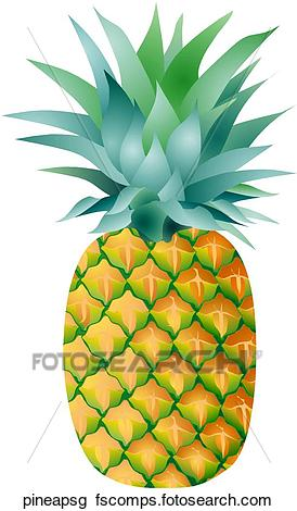 274x470 Clip Art Of Pineapple Single Pineapsg