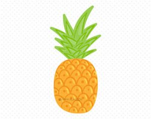 300x238 Extravagant Pineapple Clipart Clip Art Etsy