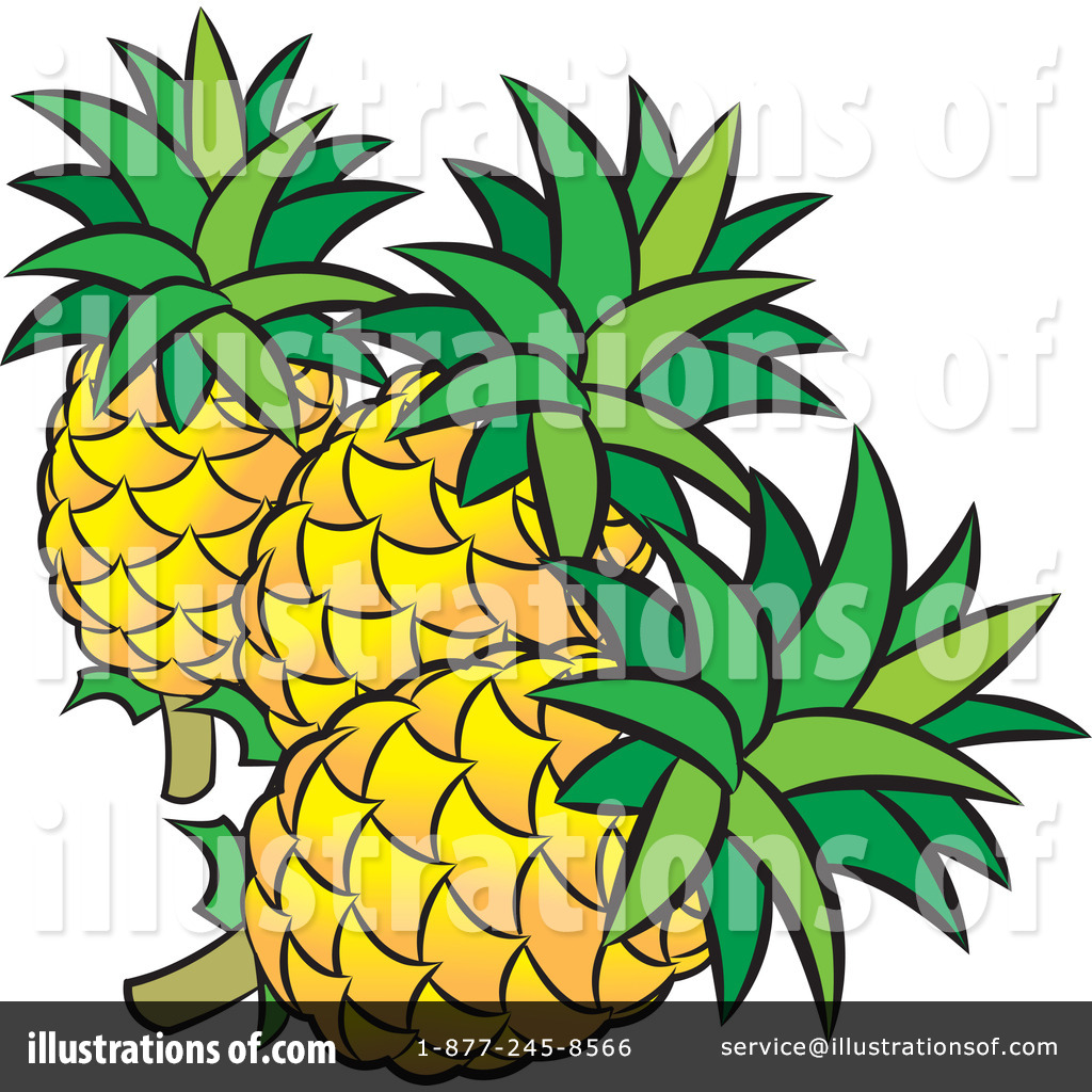1024x1024 Pineapple Clipart
