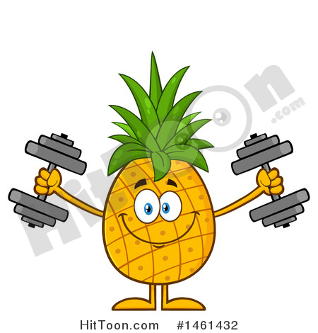 450x470 Pineapple Clipart