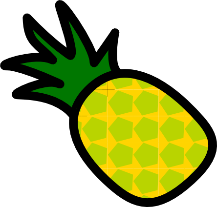 444x424 Pineapple Png Images Transparent Free Download