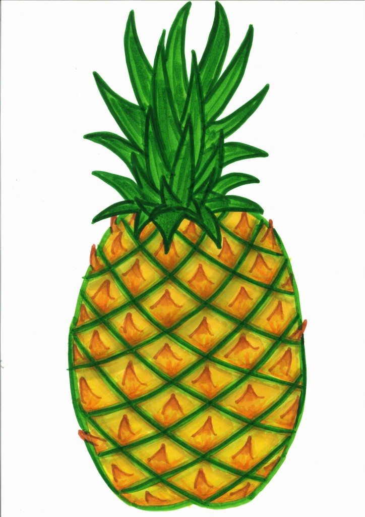 724x1024 Best Pineapple Clipart