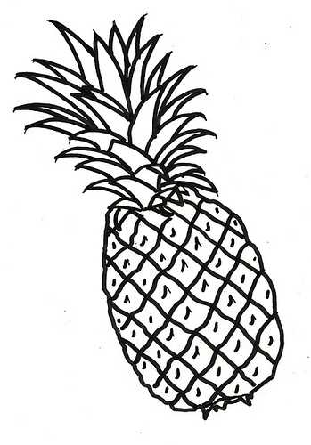 Pineapple Cliparts