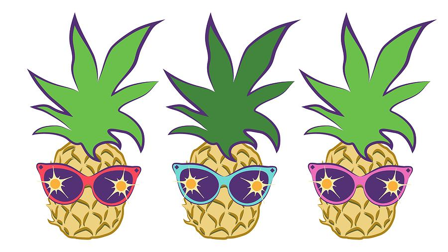 Pineapple summer. Image free download best