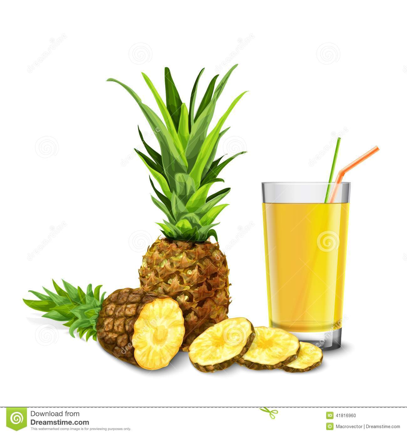 Pineapple realistic. Images free download best