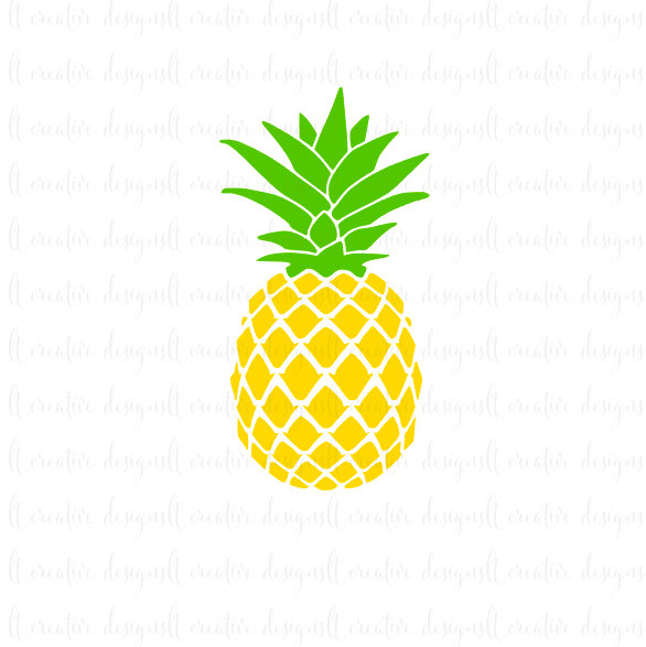 Pineapple Outline | Free download on ClipArtMag