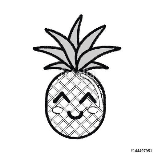 Pineapple Silhouette | Free download on ClipArtMag
