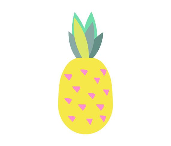 570x488 Pineapple Clipart Pineapples Set Pine Vector Pineapple